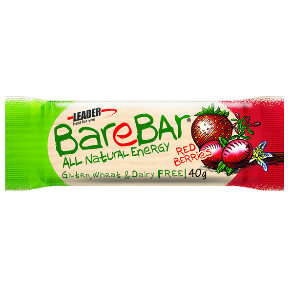 BareBar TAATELI-MARJA RED BERRIES 40G
