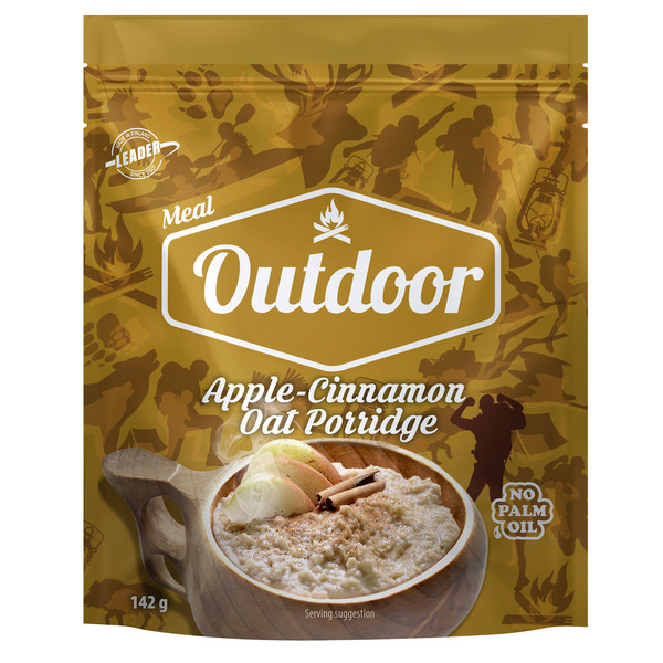Outdoor Gourmet OUTDOOR APPLE CINNAMON PORRIDGE