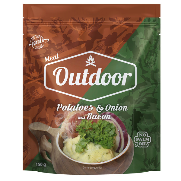 Outdoor Gourmet OUTDOOR POTATOES WITH ONION &  BACON