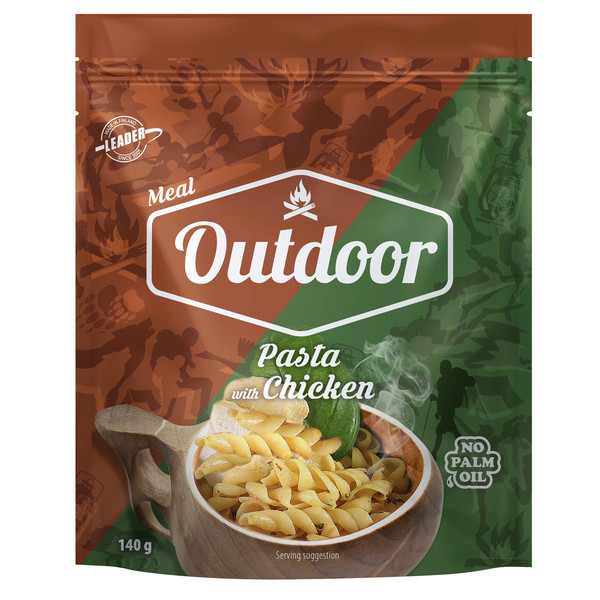 Outdoor Gourmet OUTDOOR CHICKEN PASTA
