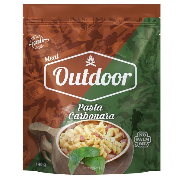 Outdoor Gourmet OUTDOOR PASTA CARBONARA