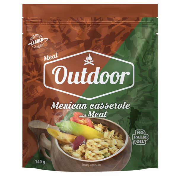 Outdoor Gourmet OUTDOOR MEXICAN CASSEROLE