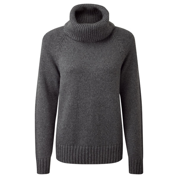Tentree WOMEN' S HIGHLINE WOOL TURTLENECK SWEATER Naiset
