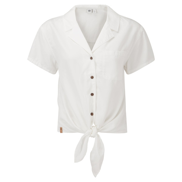 Tentree W MEANDER TIE FRONT SHIRT Naiset