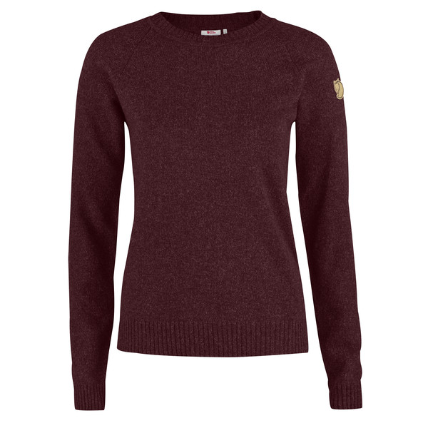 Fjällräven ÖVIK RE-WOOL SWEATER W Naiset