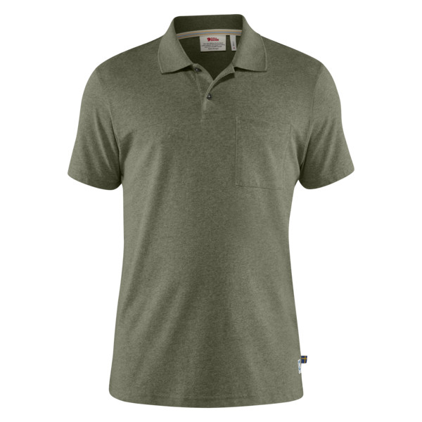 Fjällräven GREENLAND RE-COTTON POLO SHIRT M Miehet