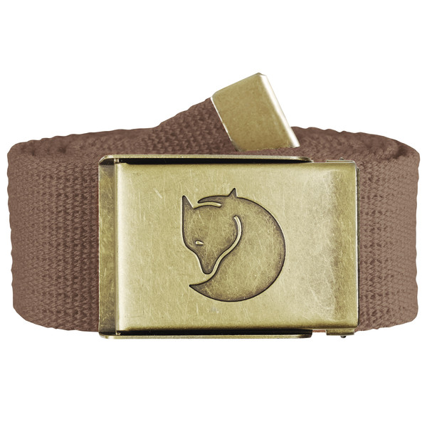 Fjällräven CANVAS BRASS BELT 4 CM. Unisex