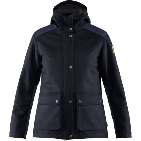 Fjällräven GREENLAND RE-WOOL JACKET W Naiset