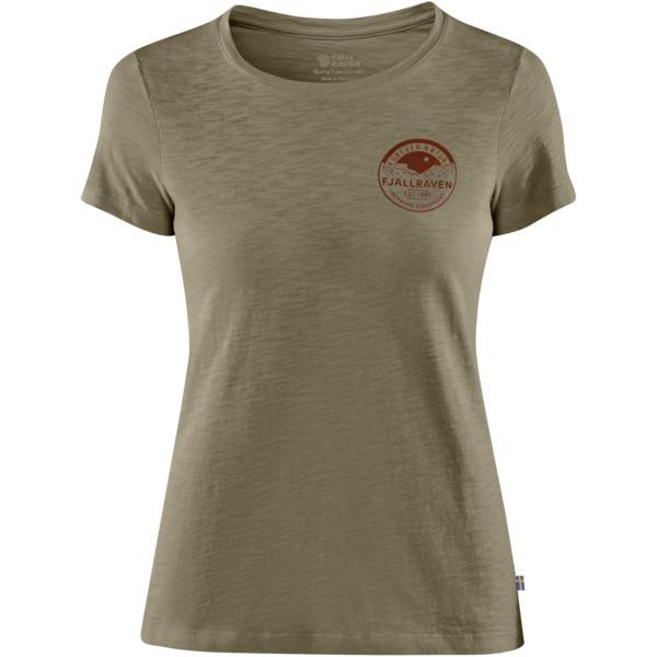 Fjällräven FOREVER NATURE BADGE T-SHIRT W Naiset