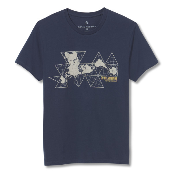 Royal Robbins UNFOLD THE MAP TEE S/S Miehet