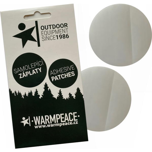 Warmpeace SELF-ADHESIVE PATCHES 75 MM 2 PCS.
