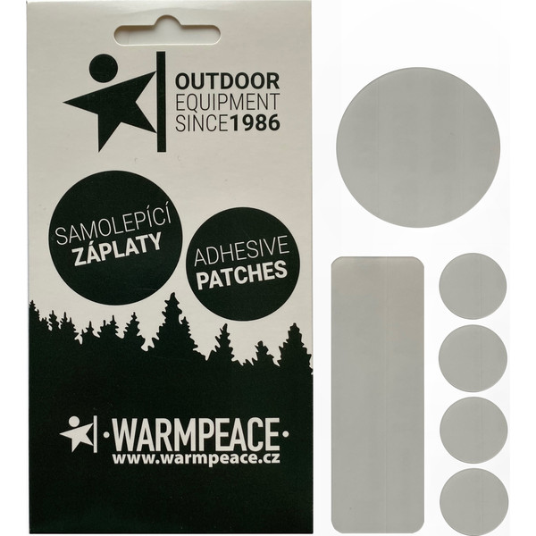 Warmpeace SELF-ADHESIVE PATCHES - MIX 6 PCS.