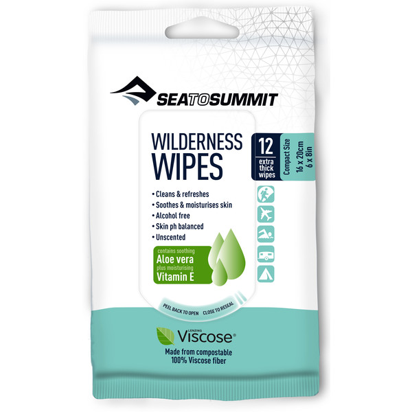 Sea to Summit WILDERNESS WIPES 12PCS