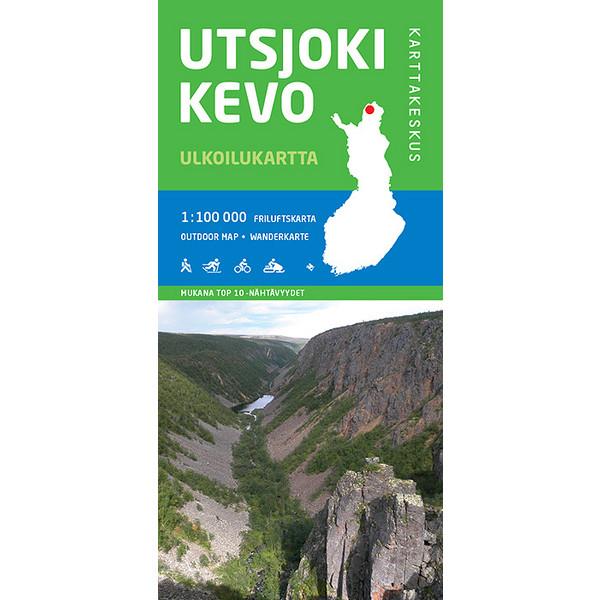 Karttakeskus UTSJOKI KEVO 1:100 000