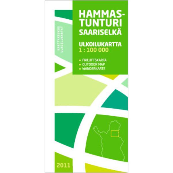 Karttakeskus HAMMASTUNTURI SAARISELKÄ
