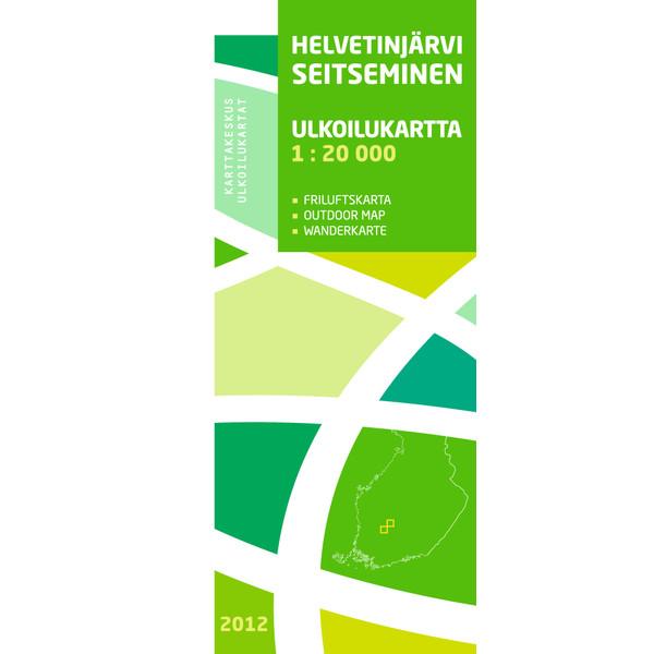 Karttakeskus HELVETINJÄRVI SEITSEMINEN