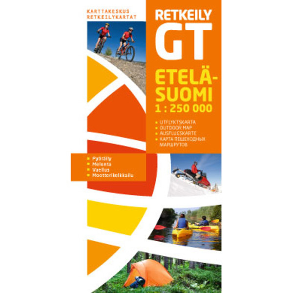 Karttakeskus RETKEILY GT ETELÄ-SUOMI