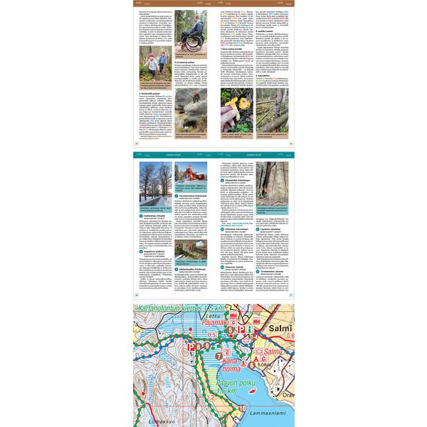 Karttakeskus Nuuksio Retkeilyopas Ja Kartta Partioaitta