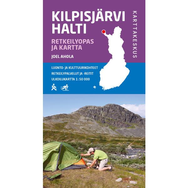 Kirja KILPISJÄRVI HALTI RETKEILYOPAS JA KARTTA