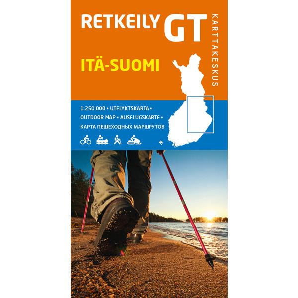 Karttakeskus RETKEILY GT ITÄ-SUOMI