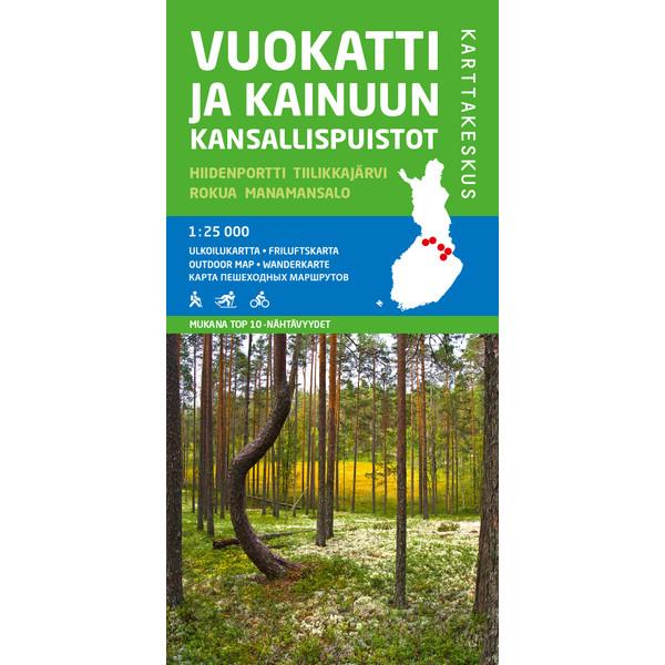 Karttakeskus VUOKATTI JA KAINUUN KANSALLISPUISTO