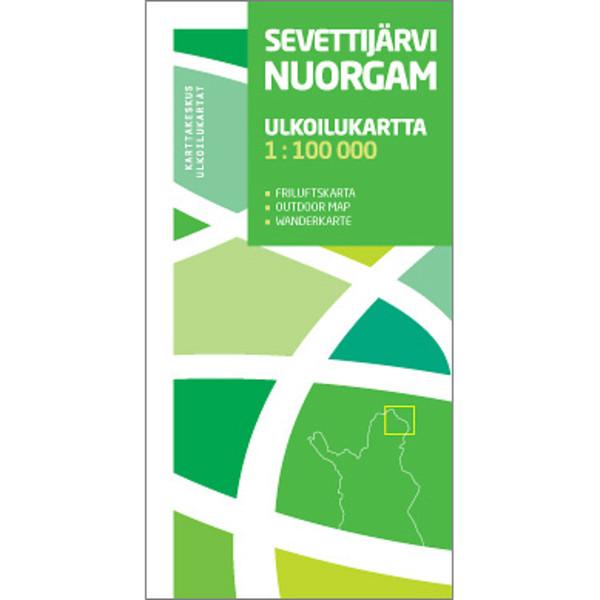 Karttakeskus SEVETTIJÄRVI NUORGAM