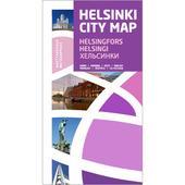 Kirja HELSINKI CITY MAP  -
