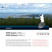Garmin TOPO FINLAND V3 PRO - NORTH  -
