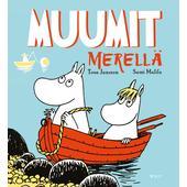 Kirja MUUMIT MERELLÄ  -