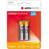 AAA EXTREME LITHIUM 2PCS BLISTER