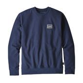Patagonia M' S SHOP STICKER PATCH UPRISAL CREW SWEATSHIRT Miehet -