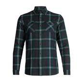 Icebreaker MENS LODGE LS FLANNEL SHIRT Miehet -