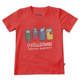 Fjällräven KIDS SLEEPING FOXES T-SHIRT Lapset -