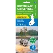 Karttakeskus HELVETINJÄRVI SEITSEMINEN  -