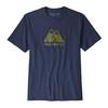 Patagonia M' S LIVE SIMPLY WINDING RESPONSIBILI-TEE Miehet - CLASSIC NAVY W/CADET BLUE