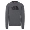 The North Face M DREW PEAK CREW Miehet - TNFMEDIUMGREYHTR/TNFBLACK