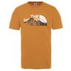 The North Face MEN' S S/S MOUNT LINE TEE Miehet - TIMBER TAN