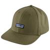 Patagonia TIN SHED HAT Unisex - P-6 LOGO: FATIGUE GREEN