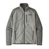 Patagonia M' S BETTER SWEATER JKT Miehet - NICKEL W/FORGE GREY