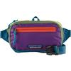 Patagonia ULTRALIGHT BLACK HOLE MINI HIP PACK Unisex - PATCHWORK: STELLER BLUE