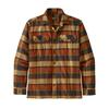 Patagonia M' S L/S FJORD FLANNEL SHIRT Miehet - PLOTS: BURNISHED RED