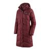 Patagonia W' S DOWN WITH IT PARKA Naiset - CHICORY RED