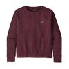 Patagonia W' S ORGANIC COTTON QUILT CREW Naiset - CHICORY RED