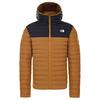 The North Face MEN' S STRETCH DOWN HOODIE Miehet - TIMBER TAN/TNF BLACK