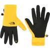 The North Face ETIP RECYCLED GLOVE Unisex - SUMMIT GOLD/TNF BLACK