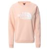 The North Face W DREW PEAK CREW Naiset - EVENING SAND PINK
