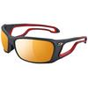 Julbo PIPELINE ZEBRA - MAT BLACK/RED