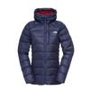 The North Face W HOODED ELYSIUM JACKET Naiset - ASTRAL AURA BLUE