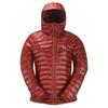 Mountain Equipment WOMEN' S ARETE HOODED JACKET Naiset - ALPENGLOW ZIPS