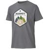 Marmot BADGE TEE SS Miehet - CHARCOAL